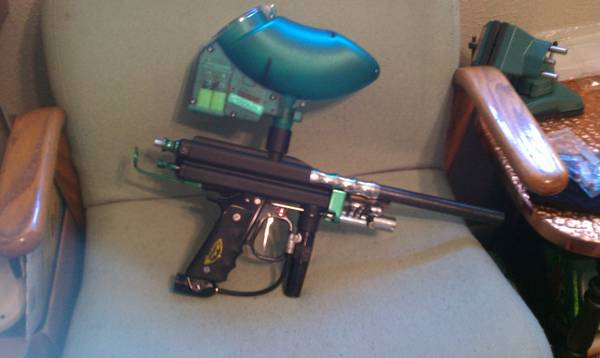 WGP Autococker PAINTBALL GUN - $200 (Baylor)