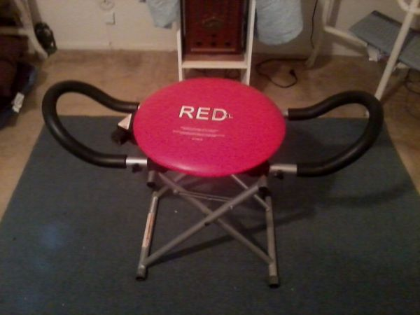 RED XL Fitness Chair - $35 (Waco)