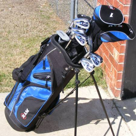 Mens RAM G Force Left Handed Golf Club Set Stand Up Bag - $60 (China Spring)