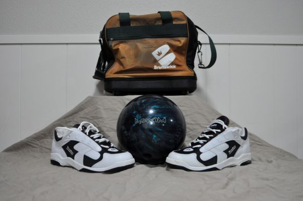 Bowling Ball, Shoes, Bag - $75 (Lacy Lakeview)