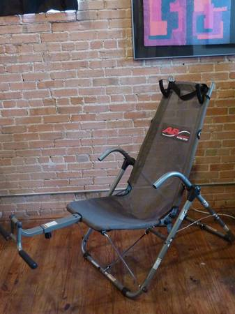 Ab Lounge Ultra Sport - Gray - Abs, Crunch, Exercise, Tone - $60 (Downtown Waco)