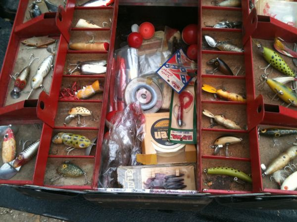 Fishing Rods, Reels, Tackle,  Lures - $175 (Robinson)