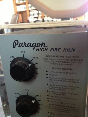 Paragon Electric Kiln Sitter Set n Fire LT-3K W. P. Dawson Potter - $500 (Waco)