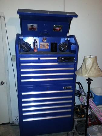 kobalt toolbox with pioneer stereo - x0024750 (lacey lakeview)