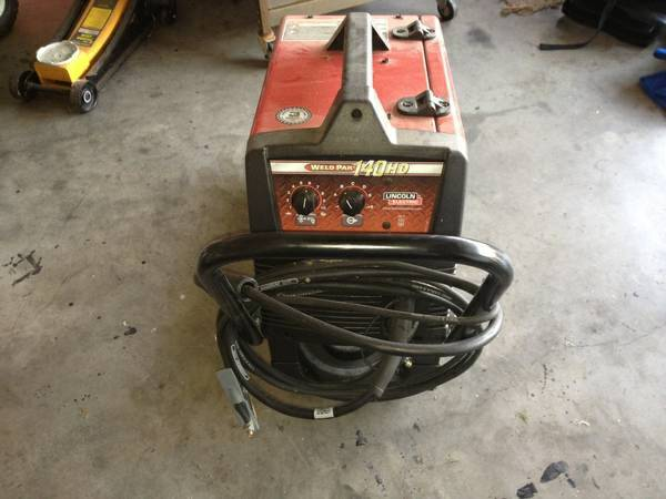 Lincoln electric 140HD Weld Pak - $475 (Waco)