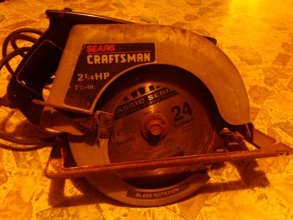Sears craftsman circular saw - $40 (Elm mott)