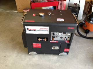 INDUSTRIAL DIESEL BRAND NEW GENERATORWELDER WITH ELECTRIC START - $3500 (CORSICANA, TX)