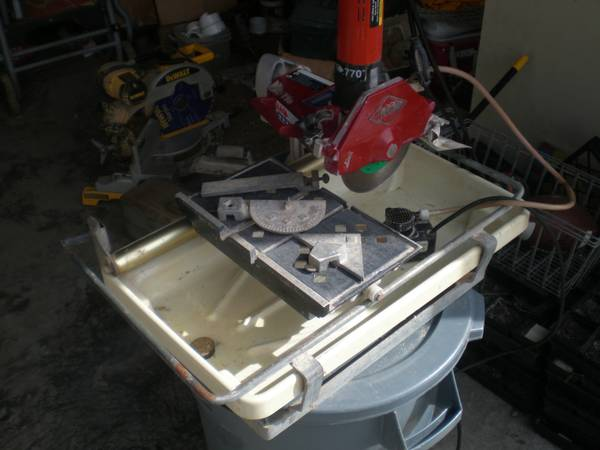 Mk 770 Tile Saw Espotted