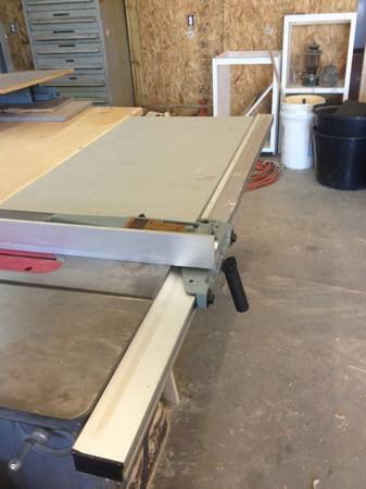 Delta Unifence and extension table - $350 (Canton)