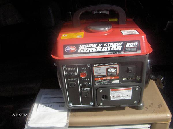 SMALL GENERATOR FROM SEARS 1000 WATT - $95 (SOUTH WACO)