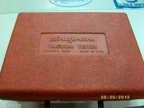 Snap On Vacuum Tester - $50 (Mexia, Tx.)