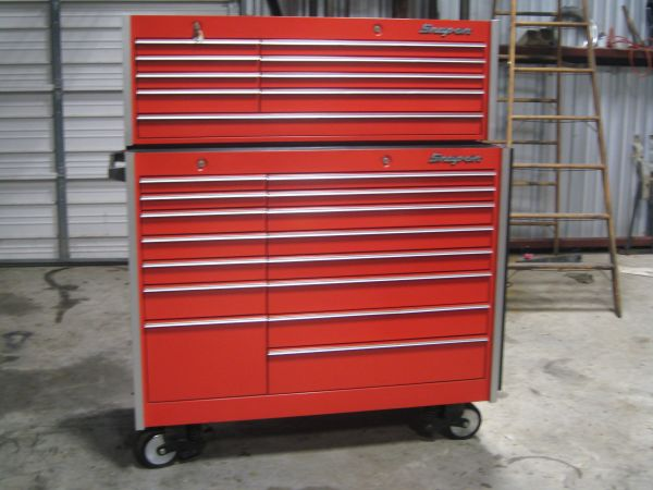Snap-On Tool Boxes and Some Snap- On Tools - $4500 (Whitney)