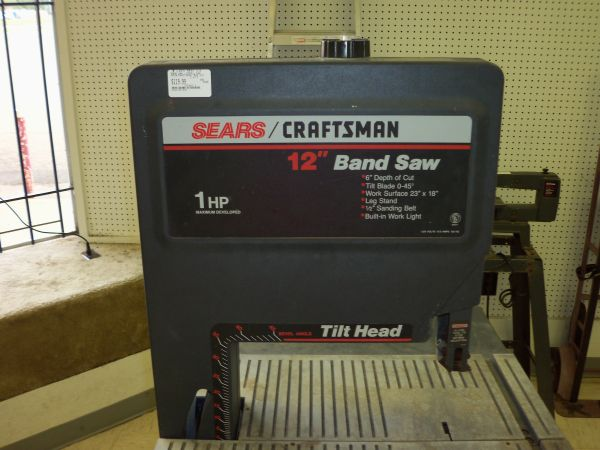 sears craftsman band saw - $120 (6516 woodway dr)