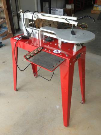 RBI Hawk Scroll Saw with Foot Switch - $400 (Whitney)