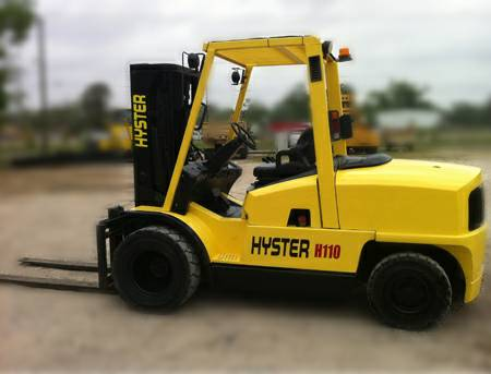 Hyster Forklift H110 XM - $22900 (Houston, TX)