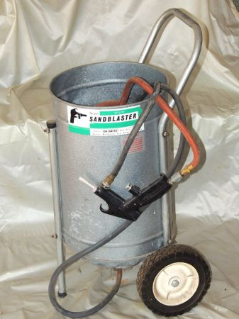 SEARS SANDBLASTER - Canister Type - $50 (Waco Near Old Hillcrest Hospital)