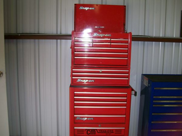 Snap-on tool boxes - $1300 (west of Corsicana)
