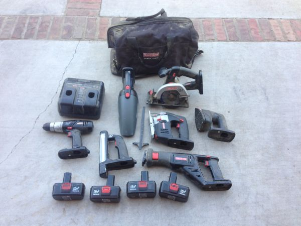 Craftsman Power Tools 13 pieces - $200 (China Spring)
