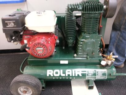 Rolair 9HP Compressor - $900 (1000 south valley mills drive waco tx 76711)