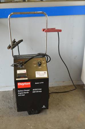 Dayton Battery Charger - $100 (Waco Habitat for Humanity ReStore)
