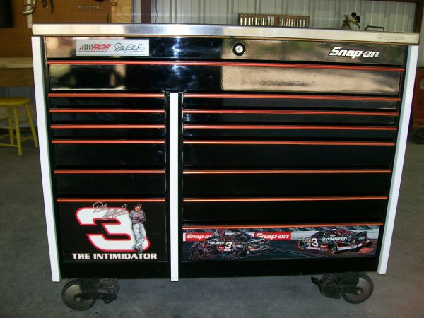 snap-on dale earnhardt toolbox - $2500 (navarro co)