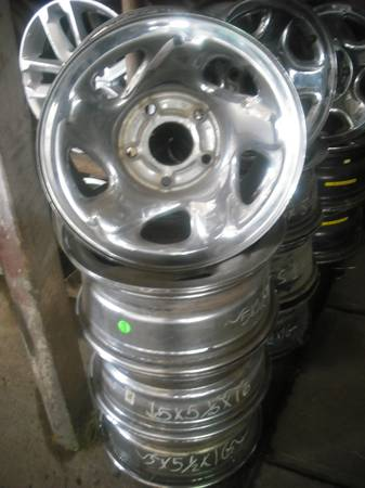 Dodge Ram 1500 Chrome Steel Factory 16 Wheels Rims - $100 (Waco, Texas)