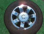 Hummer H3 factory chrome wheel and tires - $300 (Woodway)
