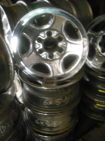 Chevrolet GMC 16 Chrome Plated 6-Lug Steel Wheels - $100 (Waco, Texas)