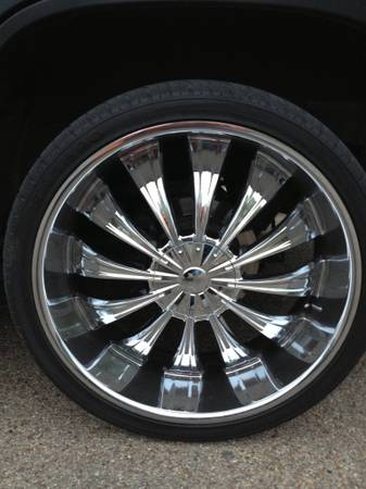 26 inch rims for Chevy - $1500 (Waco)