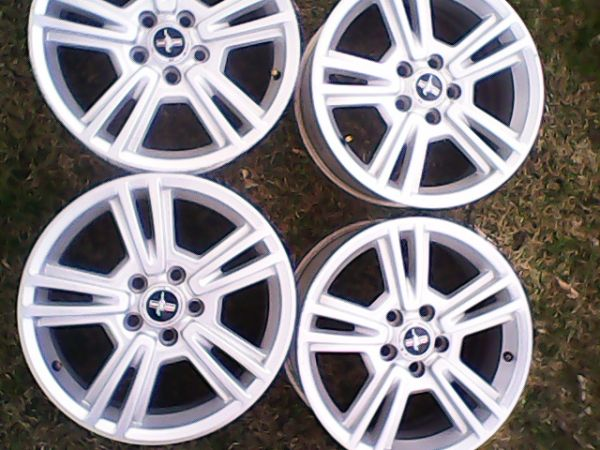Four 2010 Stock Mustang Rims - $325 (Moody, Tx)