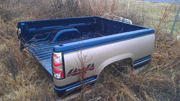 FORSALE 1995 CHEVY TRUCK BED SHORT - $500 (ROCKDALE)