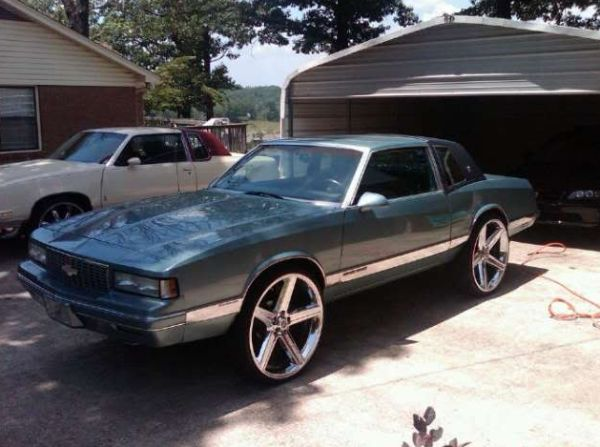 Chevy donks on 28s for sale