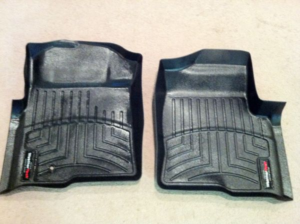 WeatherTech Ford Floor Mats - $60 (Waco)