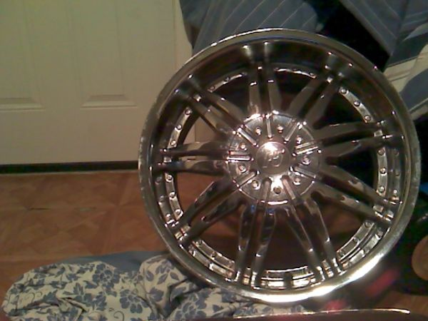 F5 Eightys 20 Rims No Tires - $450