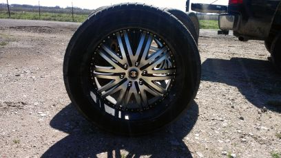 22in rims 6 lug for sale best offer - $1400 (waco)
