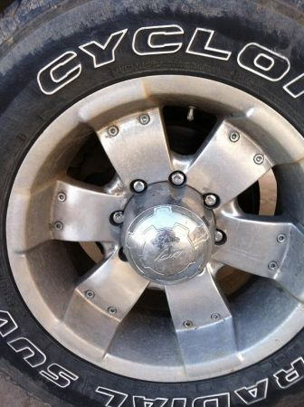 Chevy 8 lug rims - $400 (Thornton Area)
