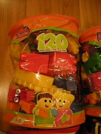 Huge lot of over 400 Mega Bloks Blocks - 4 Big Bags -   x0024 60  Waco