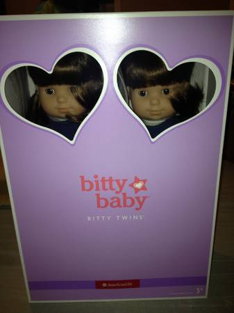 Brand New American Girl Bitty Twins - $115 (Hewitt)