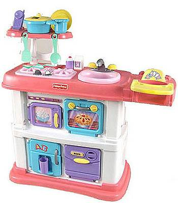 Fisher Price Grow with me and care little girls kitchen - $45 (Waco)