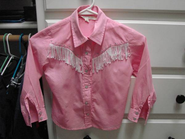 Cowgirl toddlers pink shirt - $15 (Crawford)