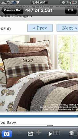Pottery Barn Twin Bed Sets -   x0024 100  China Spring