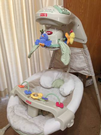 Fisher Price Natures Touch Cradle Swing - $60 (Waco)