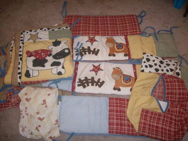 Cocalo Round Em Up Bedding Set - $80 (Riesel, TX)