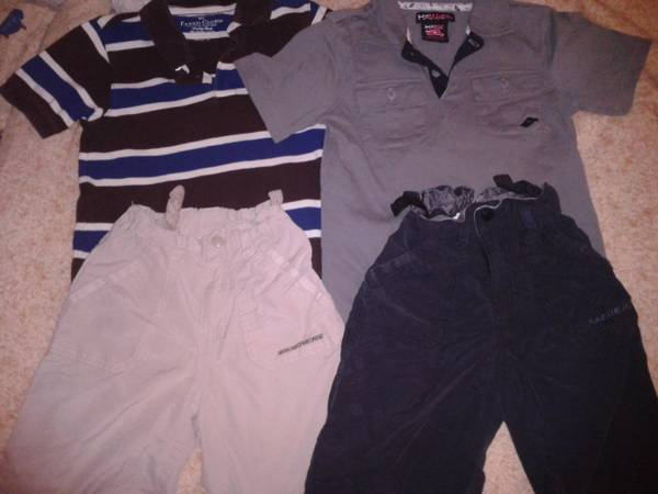 Back To School Size 67 Boys Clothes - $35 (Woodway)