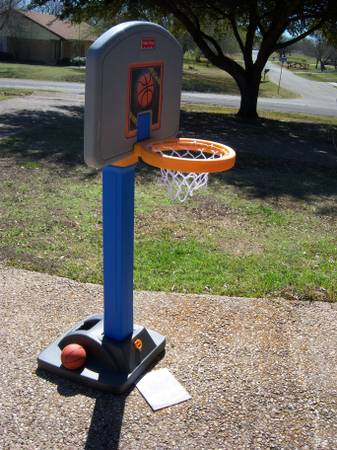 Fisher Price Grow to Pro basketball set - $25 (Robinson, TX)