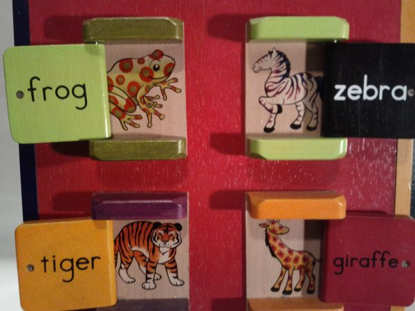 B. Toys Zany Zoo Wooden Activity Cube - $50 (Waco)