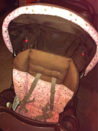 Graco pink and brown stroller - $20 (Wooday, tx)