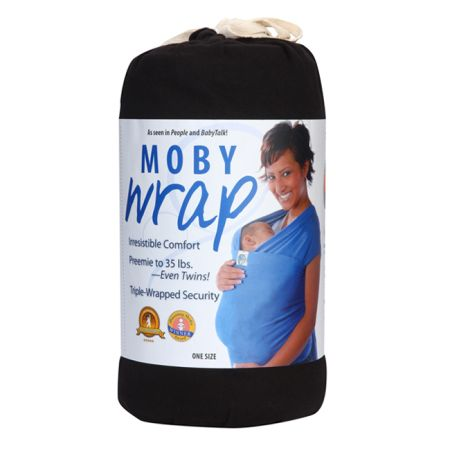 Chocolate Brown Moby Wrap w Instructions in Box. Never Been Used - $30 (Waco)