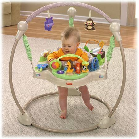 Fisher-Price Precious Planet Khaki Sands Jumperoo - $40 (Waco, TX)