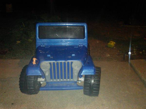 CHARGED power wheels jeep ready to go - $30 (Waco)